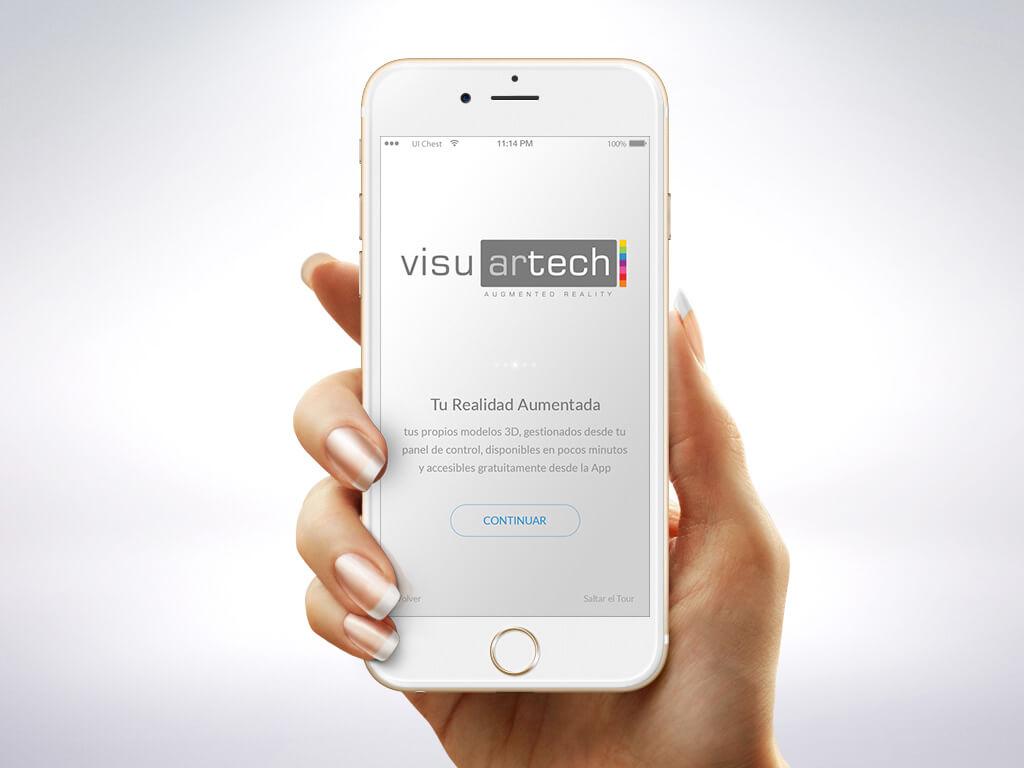 Visuartech para smartphone android y ios