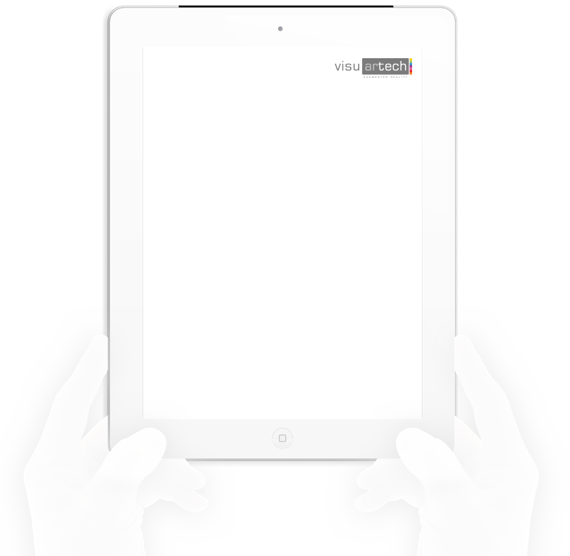 realidad aumentada visuartech ipad