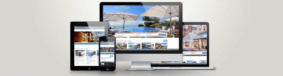 Diseño de página web para promoción inmobiliaria de viviendas